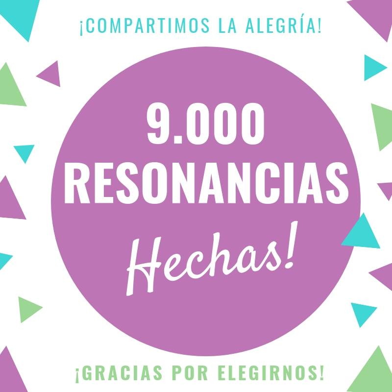 9000 resonancias en el SAH